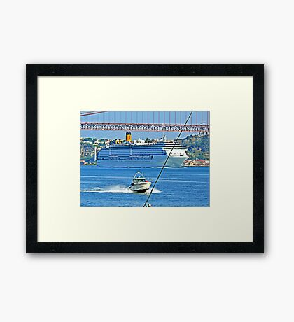busy life Framed Print