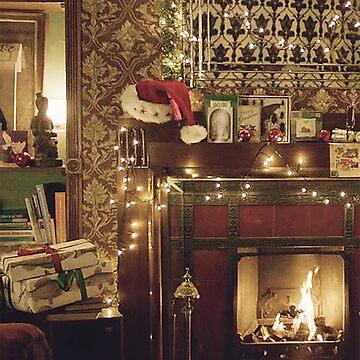 Sherlock Christmas at 221b  by annyskod