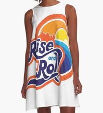 rise and roll sunrise drive A-Line Dress