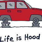 Life is Hood Tire Rotation by gstrehlow2011