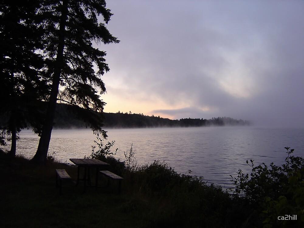 Algonquin Morning Fog by ca2hill