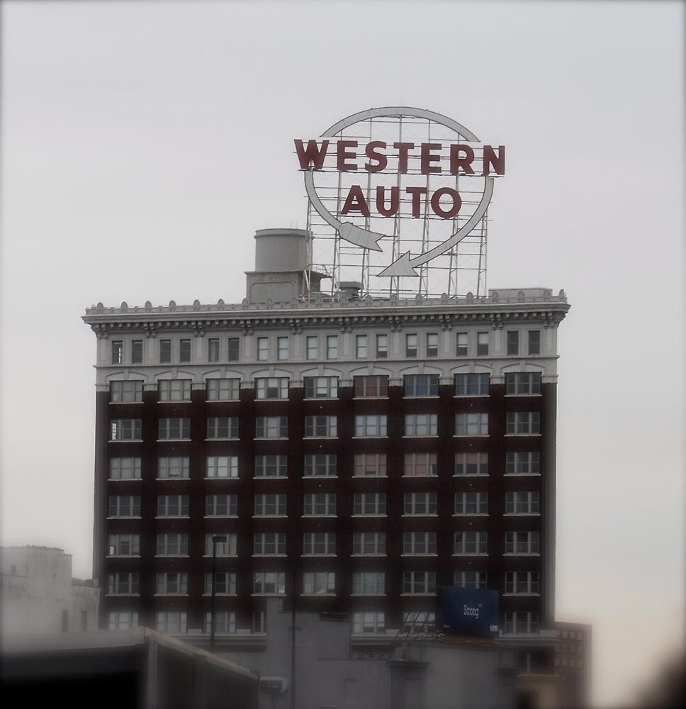 Western Auto Building by Robert Baker