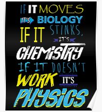 Funny Facts Science Geek  Poster