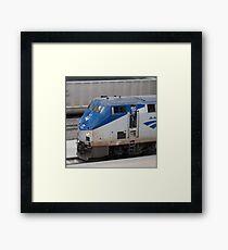 Amtrak Framed Print