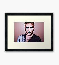 Boy Drag Framed Print