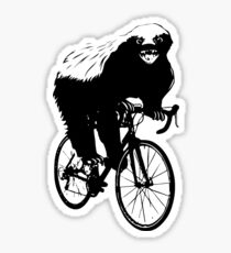 HONEYBADGER DOES CARE! Sticker