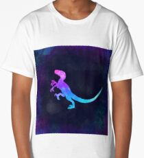 VELOCIRAPTOR IN SPACE! Long T-Shirt