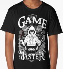Game Master - White Long T-Shirt