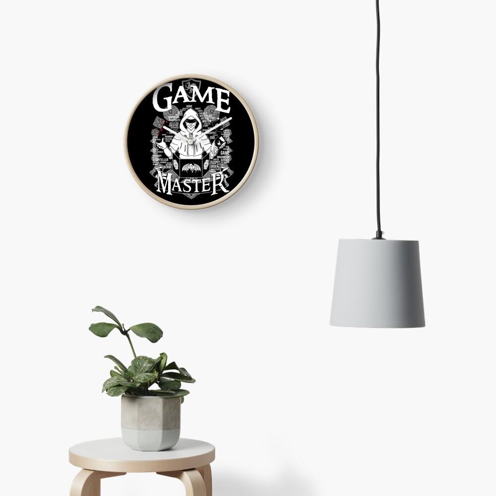 Game Master - White Clock