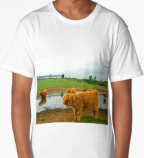 Hielan Coo Fold Long T-Shirt