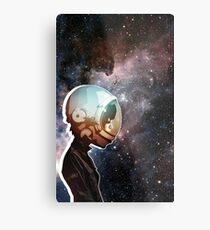 #Space Metal Print