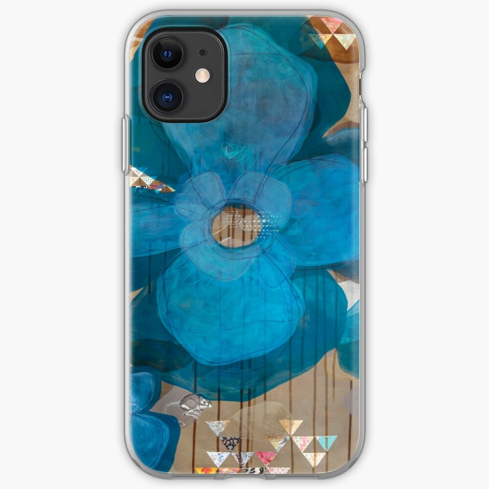 Fragmentary Blue iPhone Case & Cover