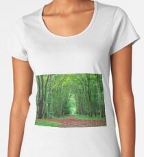 Nature background Women's Premium T-Shirt