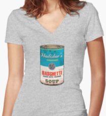 Vladislav's Basghetti, What We Do in the Shadows Women's Fitted V-Neck T-Shirt