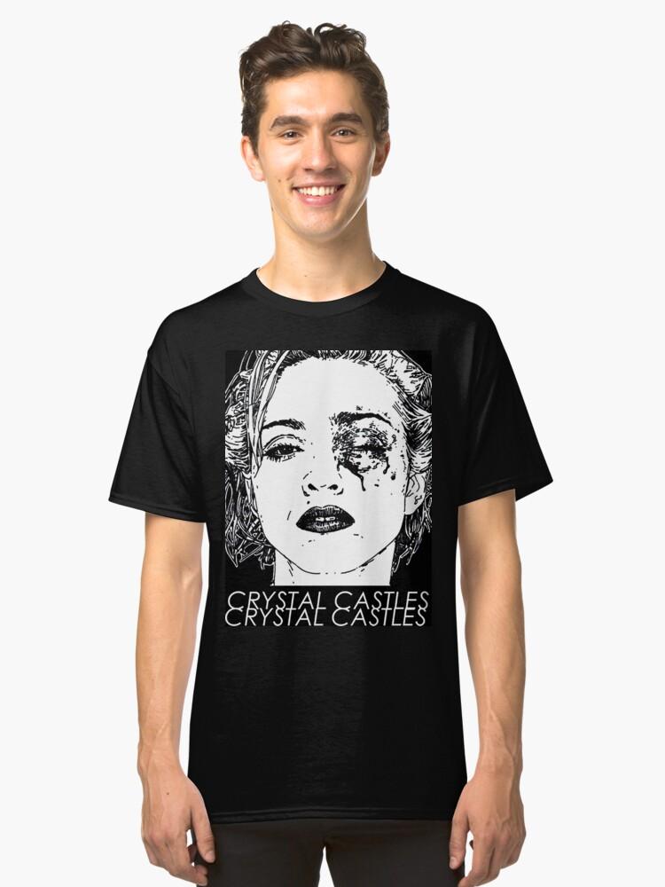 C/R/Y/S/T/A/L//C/A/S/T/L/E/S Classic T-Shirt Front