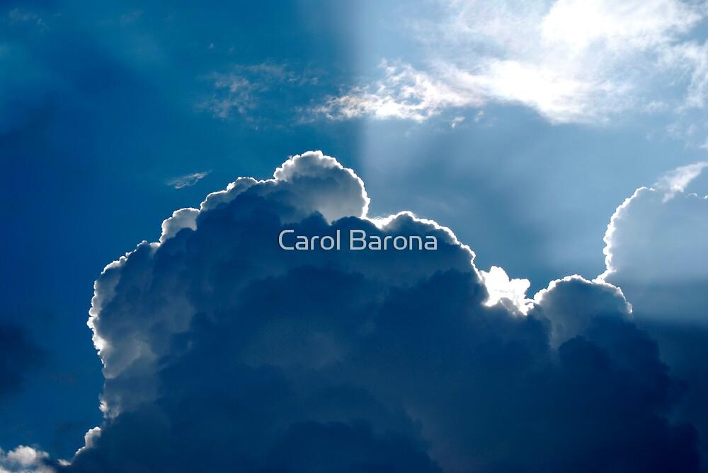 Sun Kissed Storm Cloud by Carol Barona