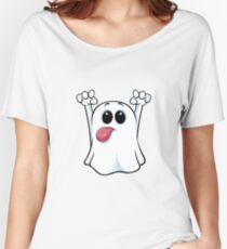 Funny ghost Women's Relaxed Fit T-Shirt