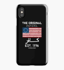 Original Infidel 1776 iPhone Case/Skin