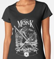 RPG Class Series: Monk - White Version Women's Premium T-Shirt
