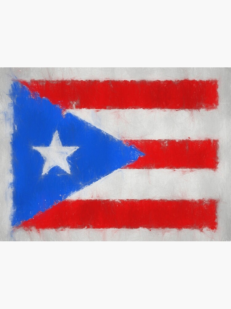 Puerto Rico Flag Reworked No. 66, Series 3 by 8th-and-f