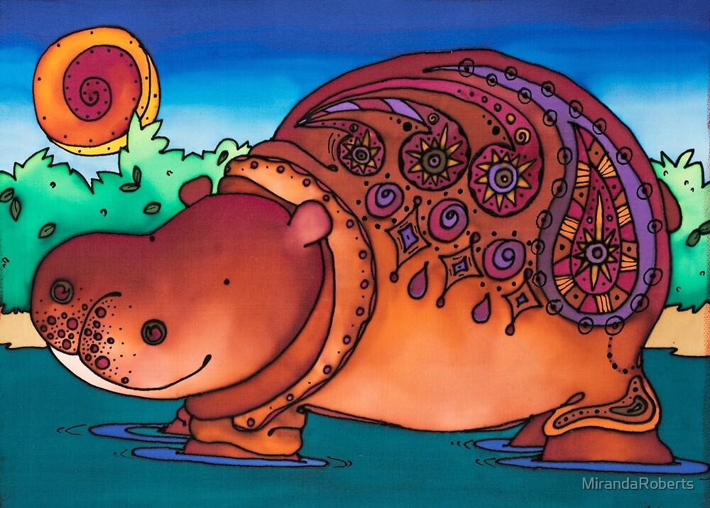 Ruby is a stylish Hippo by MirandaRoberts