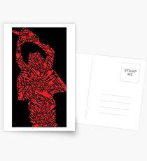 An inspired chainsaw massacre shirt tshirt mini skirt or more  Postcards