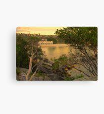 Pavillion - Balmoral Beach - The HDR Series Canvas Print