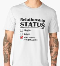 Relationship Status Anime Men's Premium T-Shirt