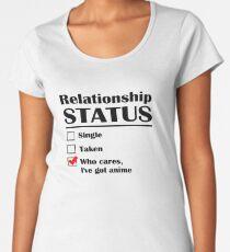 État de la relation Anime T-shirt premium femme