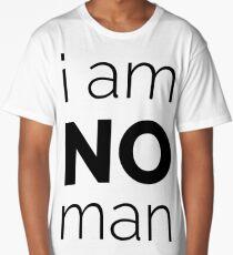 I Am No Man Long T-Shirt