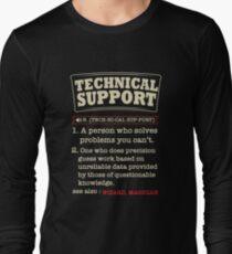 Tech Support Definition SysAdmin Shirt T-Shirt
