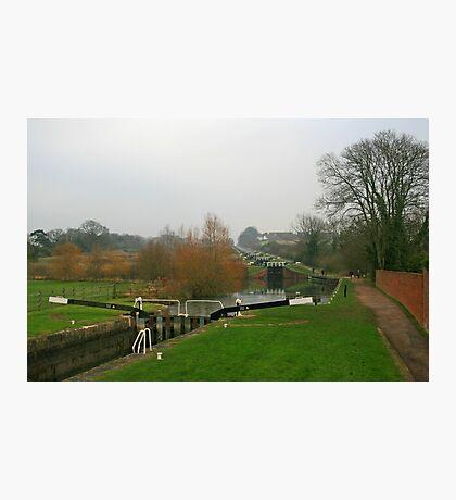 Caen Hill Locks Photographic Print