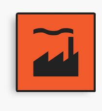 Factory Records Canvas Print