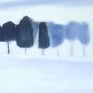 WINTER TREES by LAURIE HADLOCK
