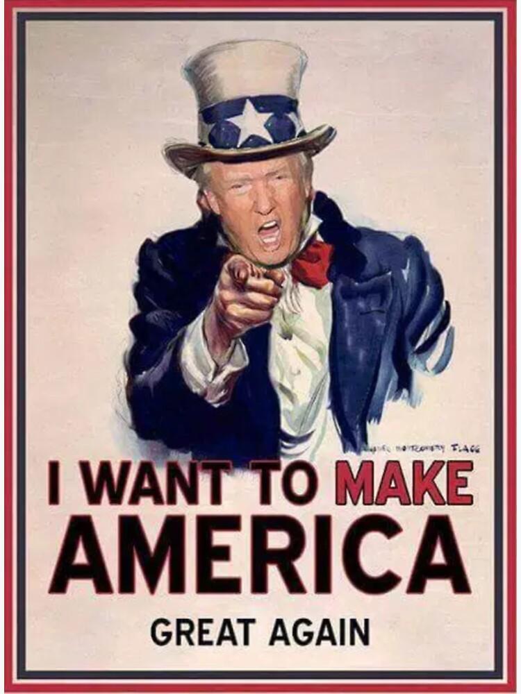 Trump: ¡Te quiero a MAGA! de andrewcb15