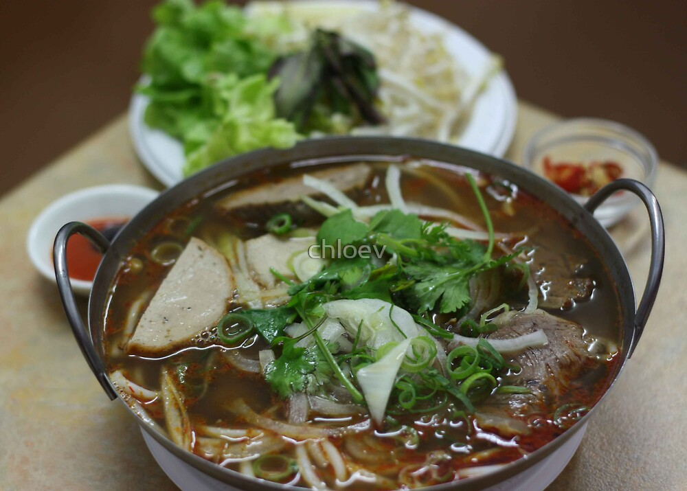 Pho - Vietnamese Noodles Soup by chloev
