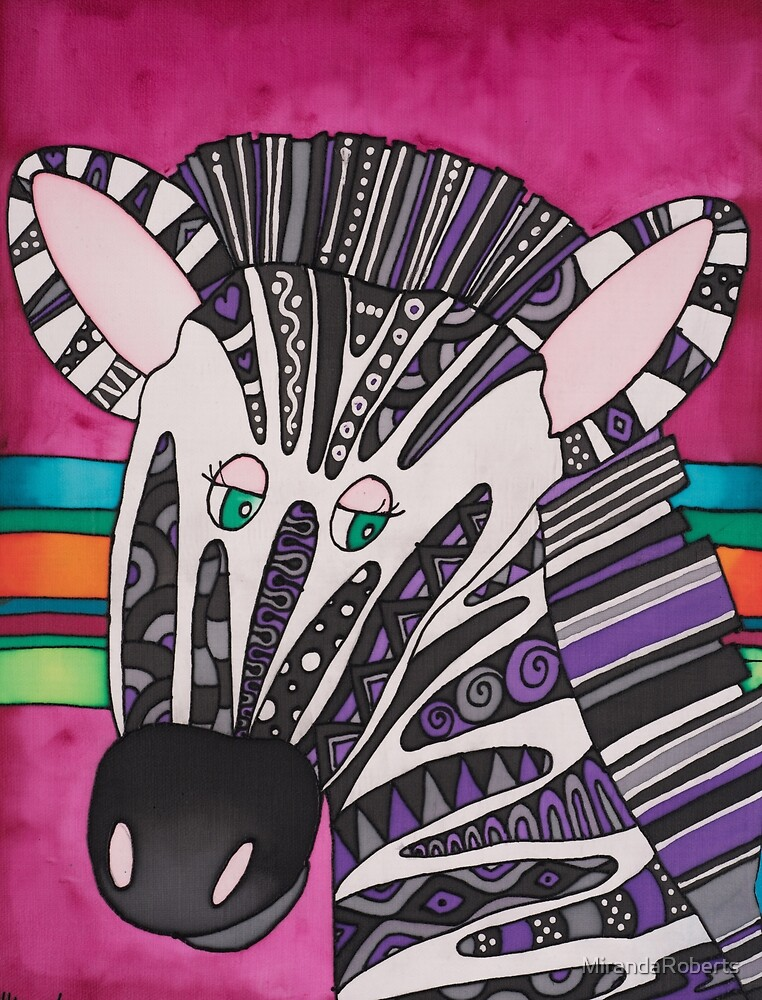 Be as individual as zany Ziggy the Zebra! by MirandaRoberts