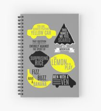 Cabin Pressure Spiral Notebook