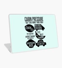 Cabin pressure moments  Laptop Skin