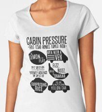 Cabin pressure moments  Women's Premium T-Shirt