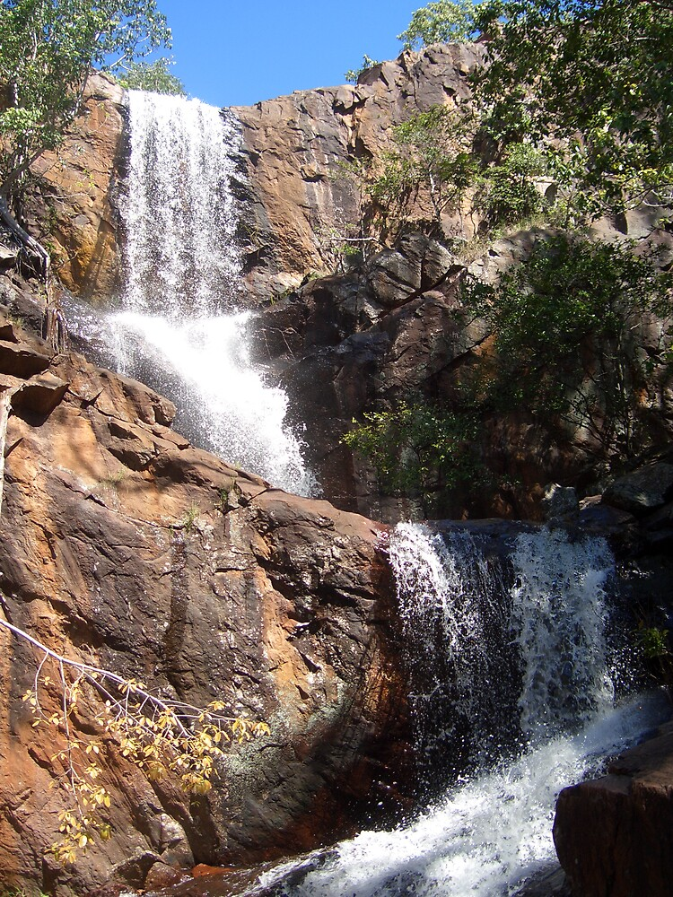 waterfall by ameliavintage