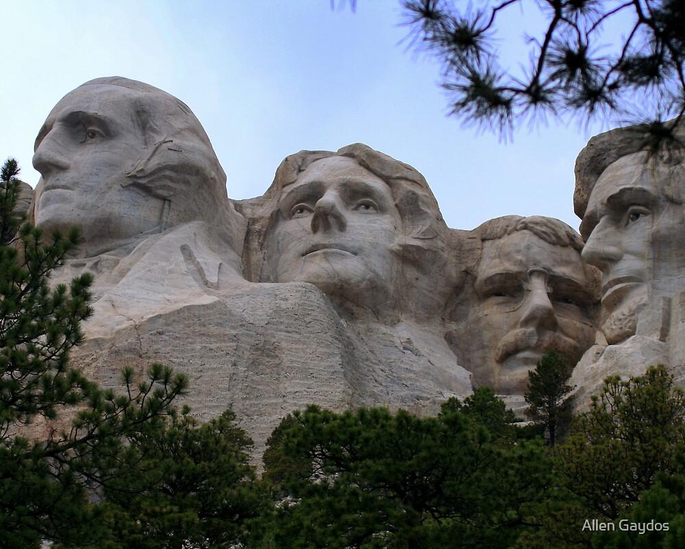 Mount Rushmore by Allen Gaydos