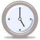 Clock Five by Henrik Lehnerer