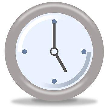 Clock Five by hlehnerer