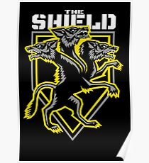 The Shield Hounds Yellow Poster