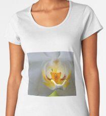Orchid Closeup Women's Premium T-Shirt