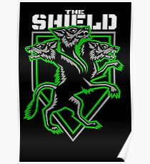 The Shield Hounds Green Poster