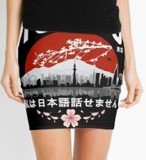 Tokyo - 'I don't speak Japanese': White Version Mini Skirt