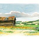 Prairie Buildings by victorsart