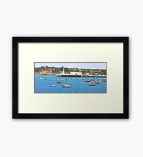 Gelong Waterfront Framed Print